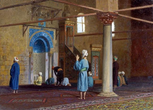 Preview of Fig. 149: Prière dans la mosquée