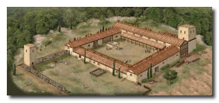 Reconstruction of Phase II structures at Poggio Civitate