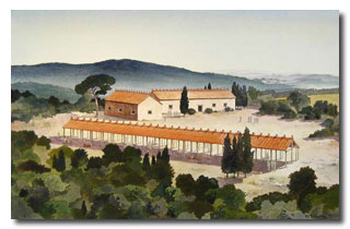 Reconstruction of Phase I structures at Poggio Civitate