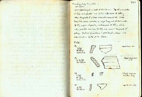 Preview of Trench Book JB VI:222-223