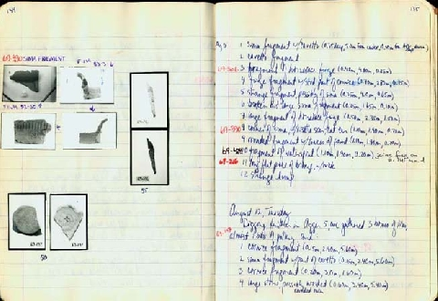 Preview of Trench Book MB I:134-135