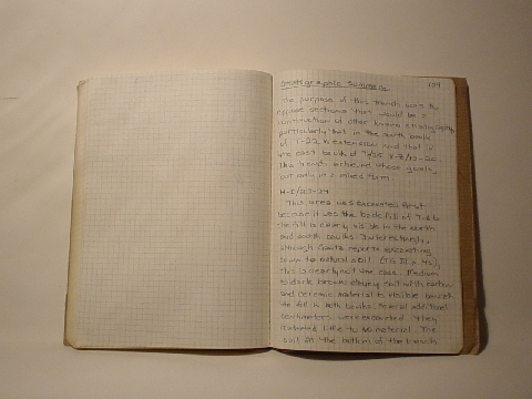 Preview of Trench Book AG II:158-159