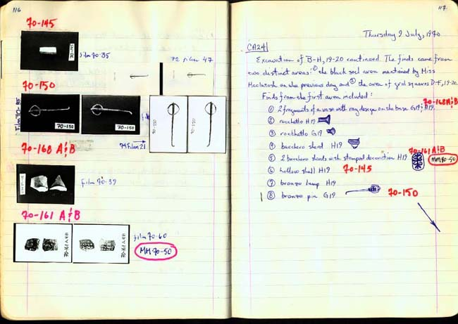 Thumbnail for Trench Book BB I:116-117
