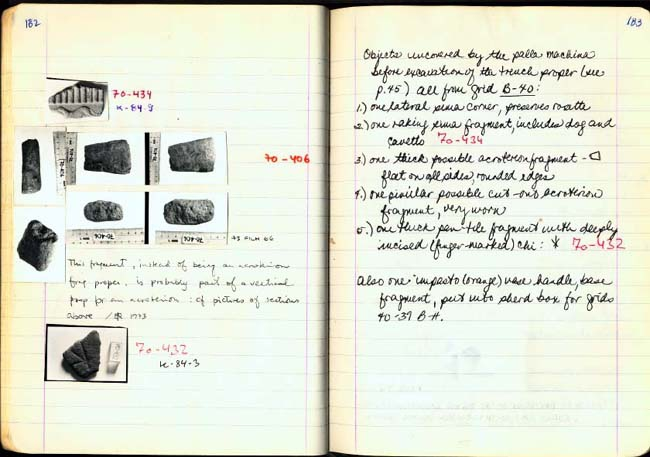 Thumbnail for Trench Book BB I:182-183