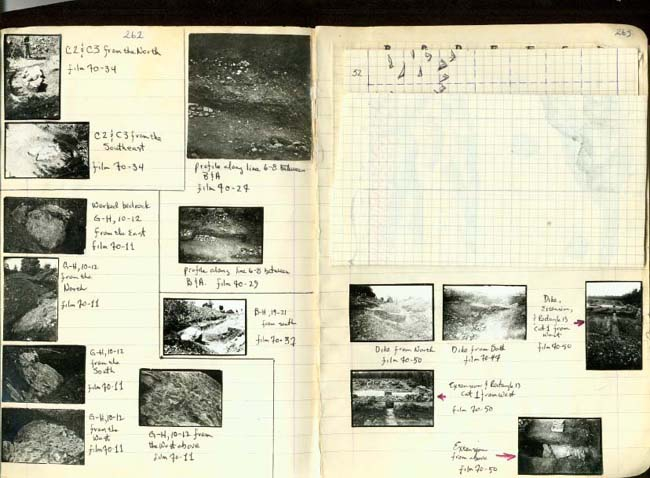 Thumbnail for Trench Book BB I:262-263