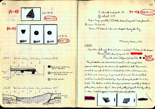 Thumbnail for Trench Book BB I:58-59