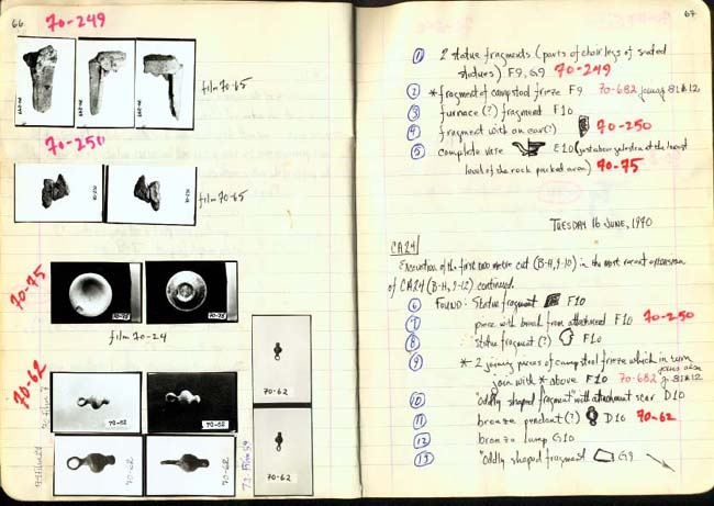 Thumbnail for Trench Book BB I:66-67