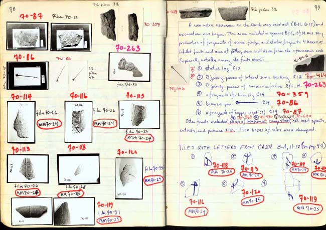 Thumbnail for Trench Book BB I:78-79