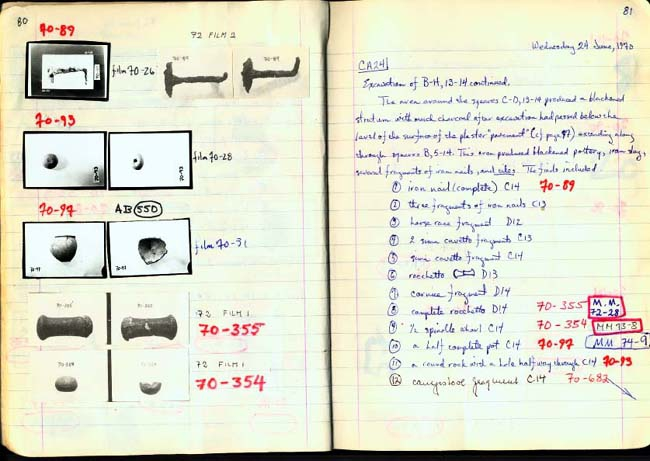 Thumbnail for Trench Book BB I:80-81