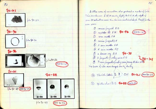 Thumbnail for Trench Book BB I:82-83