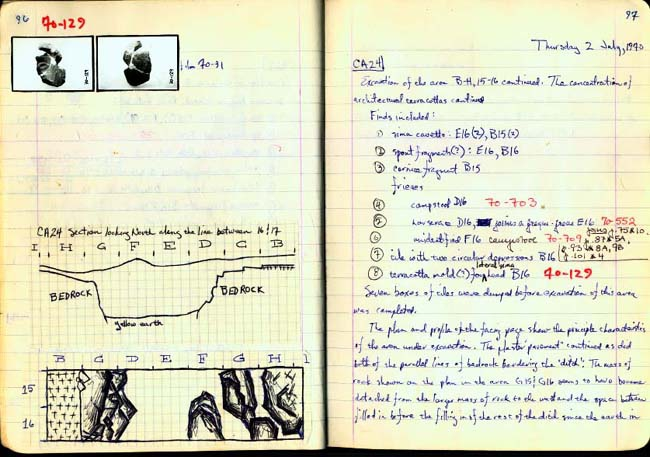 Thumbnail for Trench Book BB I:96-97